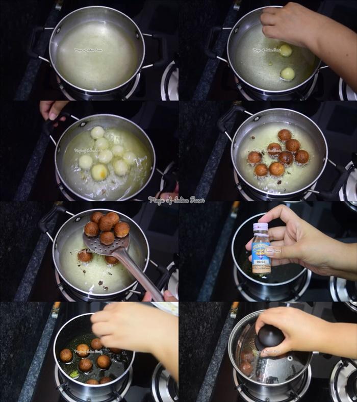 Gulab Jamun Using Milk Powder Recipe - Perfect & Super Soft Gulab Jamun - मिल्क पाउडर से गुलाब जामुन बनाने का आसान तरीका - Priya R - Magic of Indian Rasoi