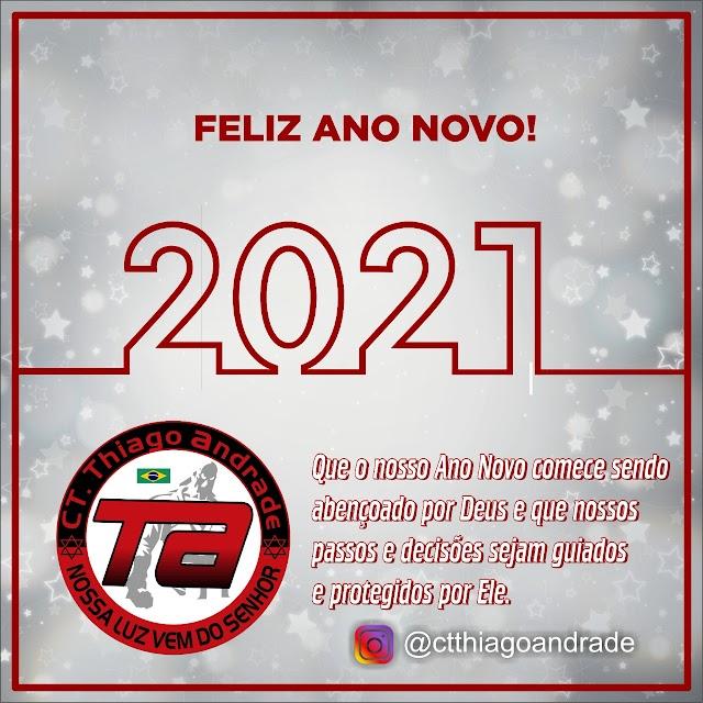 CT Thiago Andrade Deseja um Feliz Ano Novo aos Atletas e aos Cidadãos Jacobinense