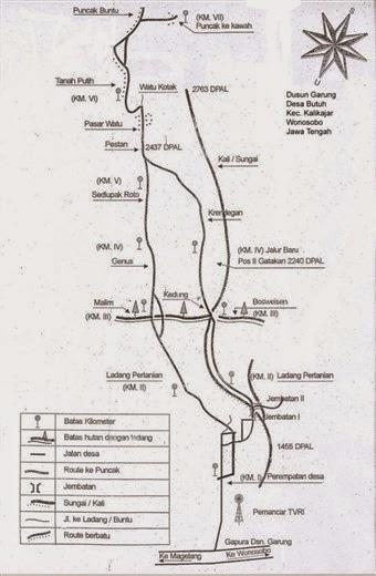 Jalur Pendakian Gunung Sumbing via Garung