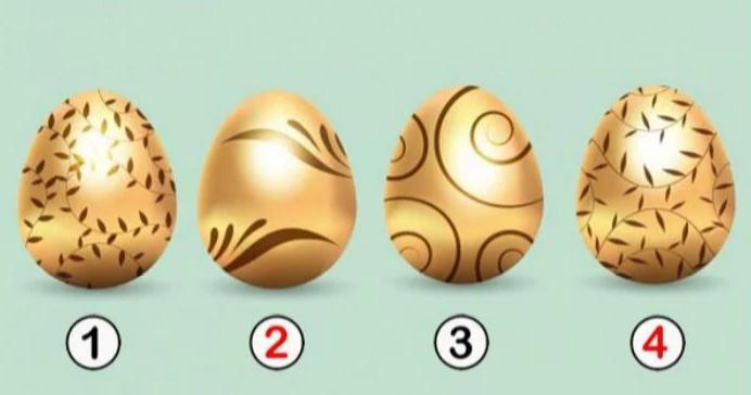 Выберите золотое яйцо и откройте для себя послание, которое оно хранит