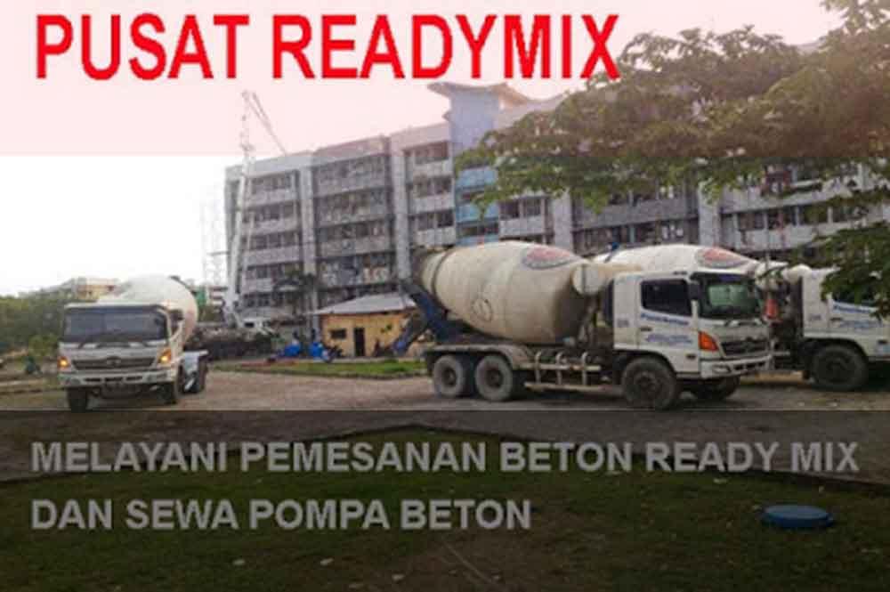 Harga Beton Cor Ready Mix Gunung Putri Per m3 Terbaru 2018
