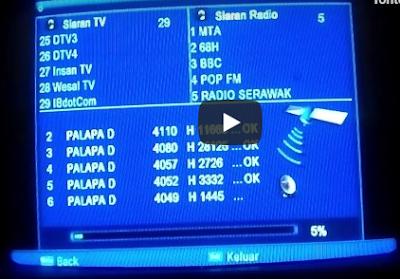 Cara Scan Frekuensi RCTI yang hilang Sinyalnya secara Mudah