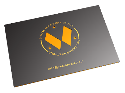 VectorWhiz Business Card
