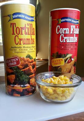 Southern Homestyle Gluten Free Corn Flake Crumbs
