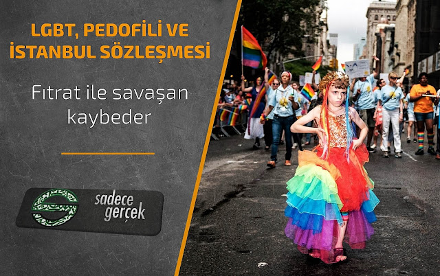 LGBT, Pedofili ve İstanbul Sözleşmesi