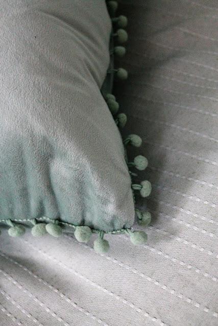 pompom, tyyny, koristetyyny