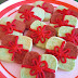 Christmas Checkerboard Cookies