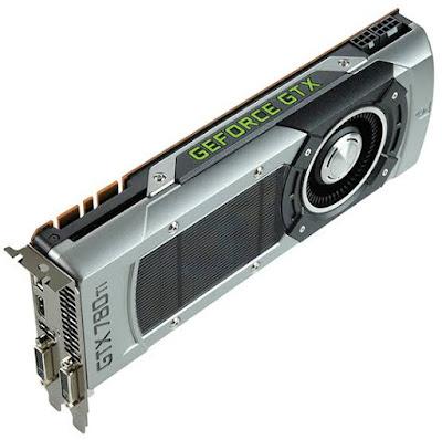 NVidia GeForce GTX 780 Tiドライバーダウンロード