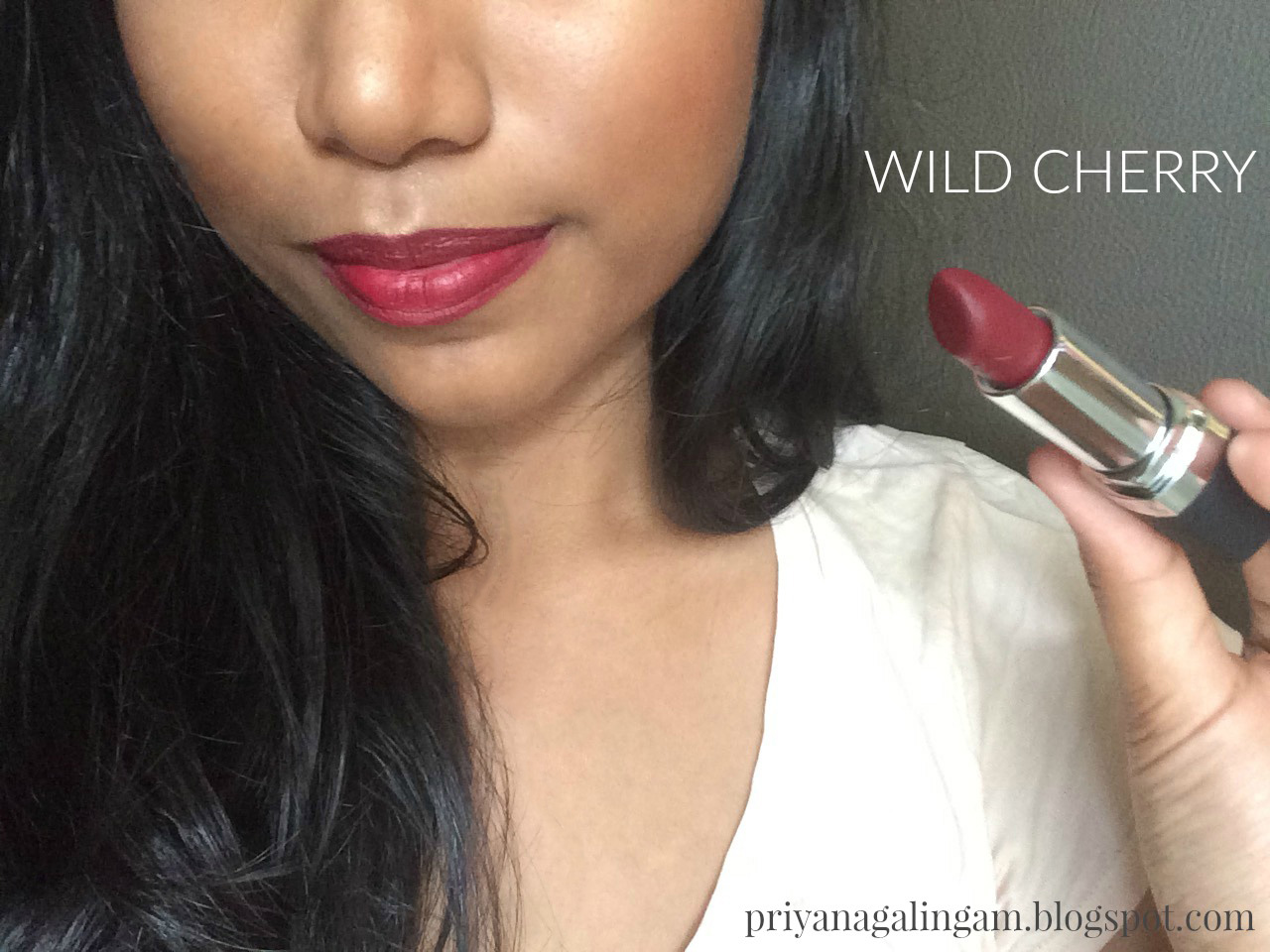 Cherry Red Lipstick Colour