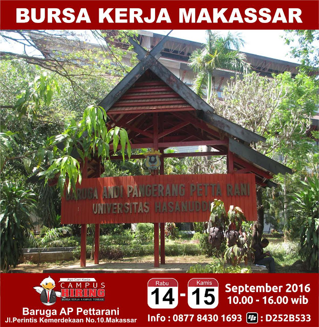 Job Fair Makassar - Bursa Kerja Makassar di Kampus UNHAS