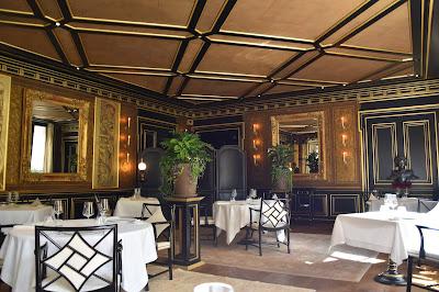 Intérieur restaurant le Gabriel (8 -ème), blog Délices à Paris.