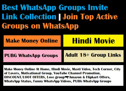 Best WhatsApp Groups Invite Link Collection | Join Top Active Groups on WhatsApp