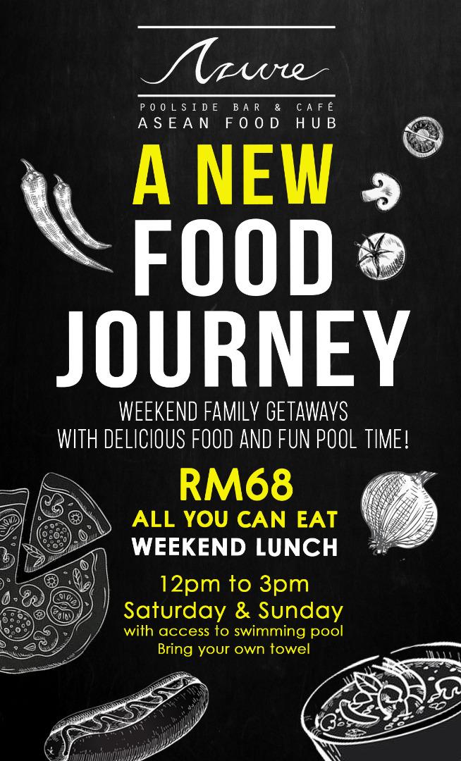 Azure New Food Journey at Le Méridien Kota Kinabalu
