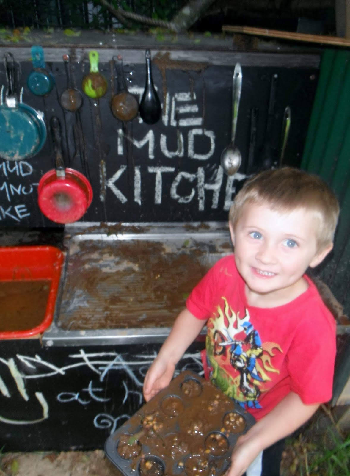 kids pretend kitchen shelving for adventures at home with mum: 8 benefits of playing in the mud