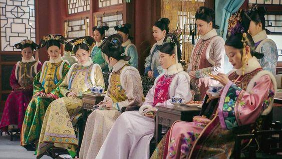 tingkatan selir pada Ruyi's Royal Love in the Palace