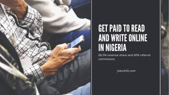 Get Paid to Read and Write Online in Nigeria