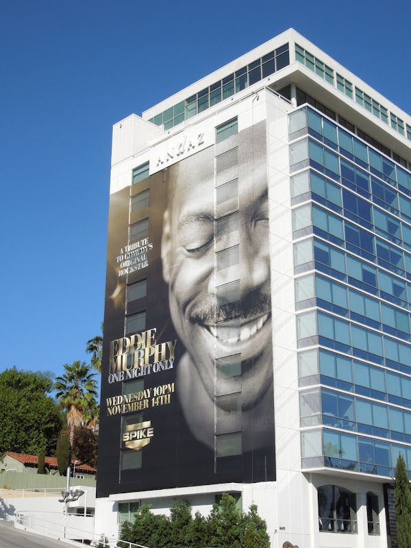Giant Eddie Murphy One Night Only billboard