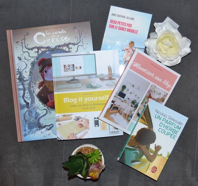 Les carnets de Cerise, Blog it yourself, Monétiser son blog, Deux petits pas sur le sable mouillé, Un parfum d'herbe coupée