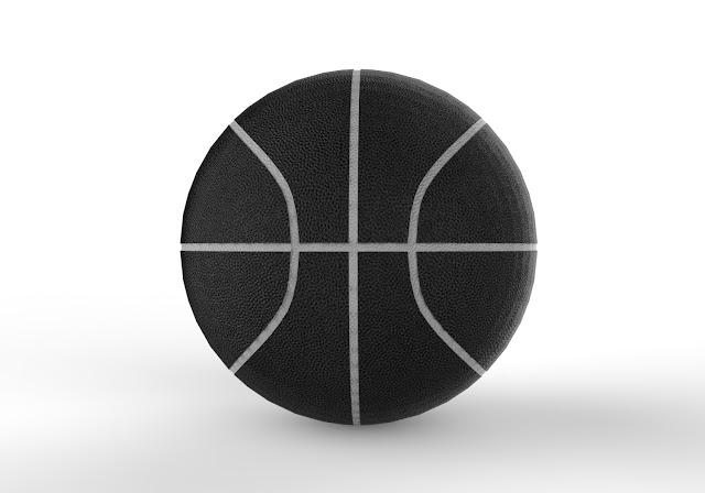 Basketball 3d model free download obj.maya,low poly