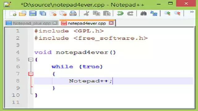 تحميل برنامج Notepad++ على حاسوب