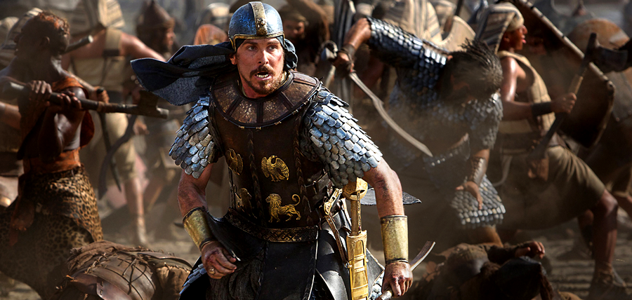 Christian Bale este Moise în filmul biblic Exodus: Gods And Kings