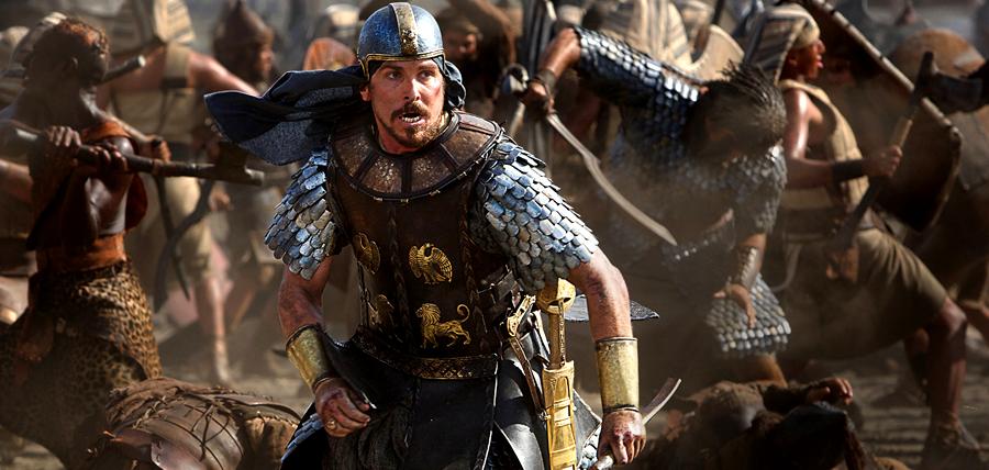 Christian Bale este Moise în filmul biblic Exodus: Gods And Kings
