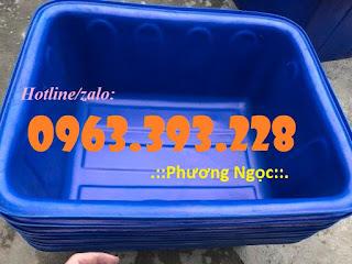 Thùng nhựa chữ nhật, thùng nhựa đựng hóa chất 9a8c3770778890d6c999