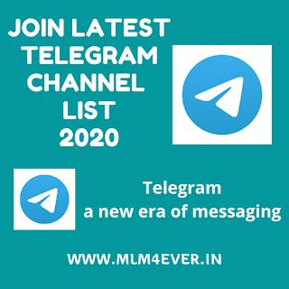 Join Latest Telegram Channel Link List 2020