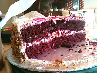 Grandmother Paul's Red Velvet Cake