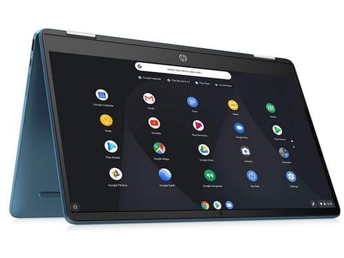 2021 HP X360 Chromebook 14inch Convertible Laptop