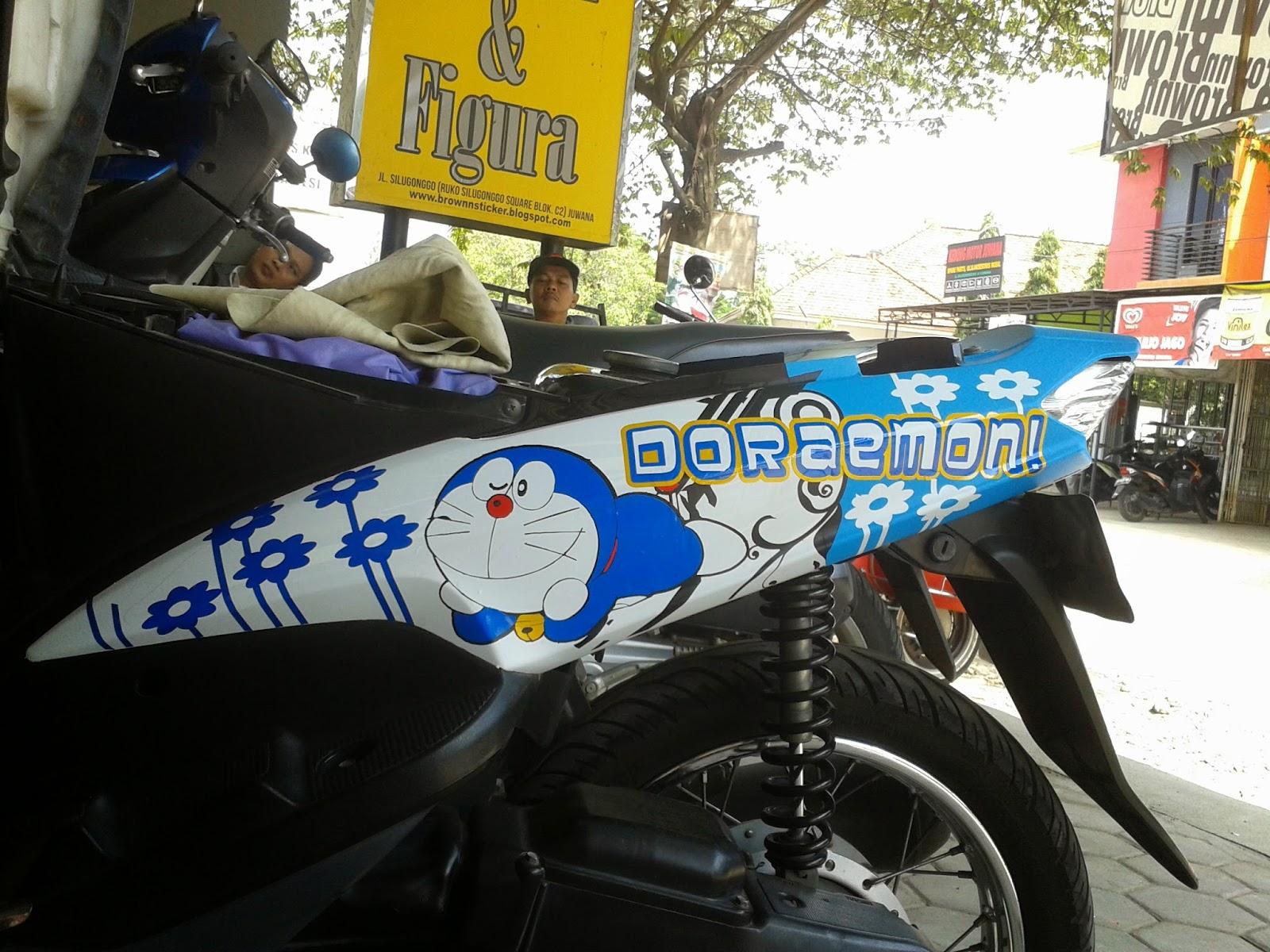 Modifikasi Motor Mio Doraemon Pecinta Modifikasi