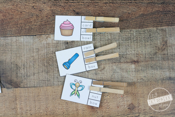 compound words clip cards make practicing fun for first grade, 2nd grade, 3rd grade
