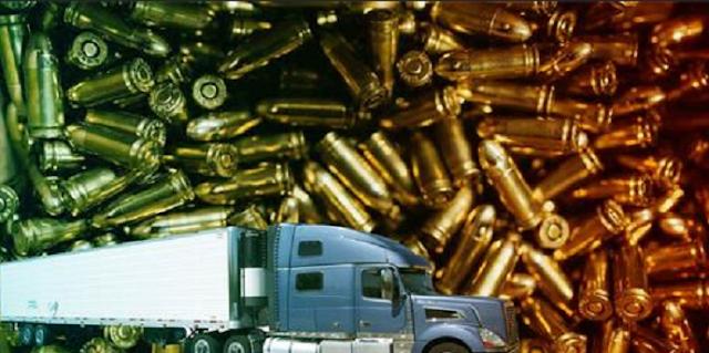Con mas de 7 Millones de balas, roban tráileres en Guanajuato