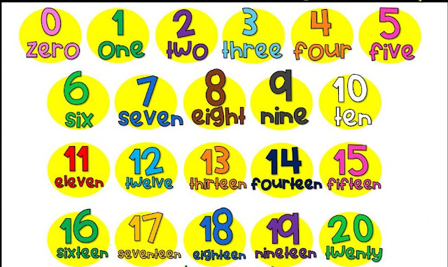 English lessons for beginners  lesson 1   numbers 1-20