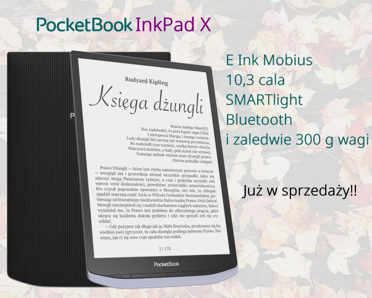 PocketBook InkPad X z ekranem 10,3 cala już w sprzedaży