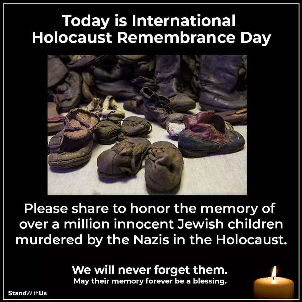 International Holocaust Remembrance Day Wishes Awesome Images, Pictures, Photos, Wallpapers