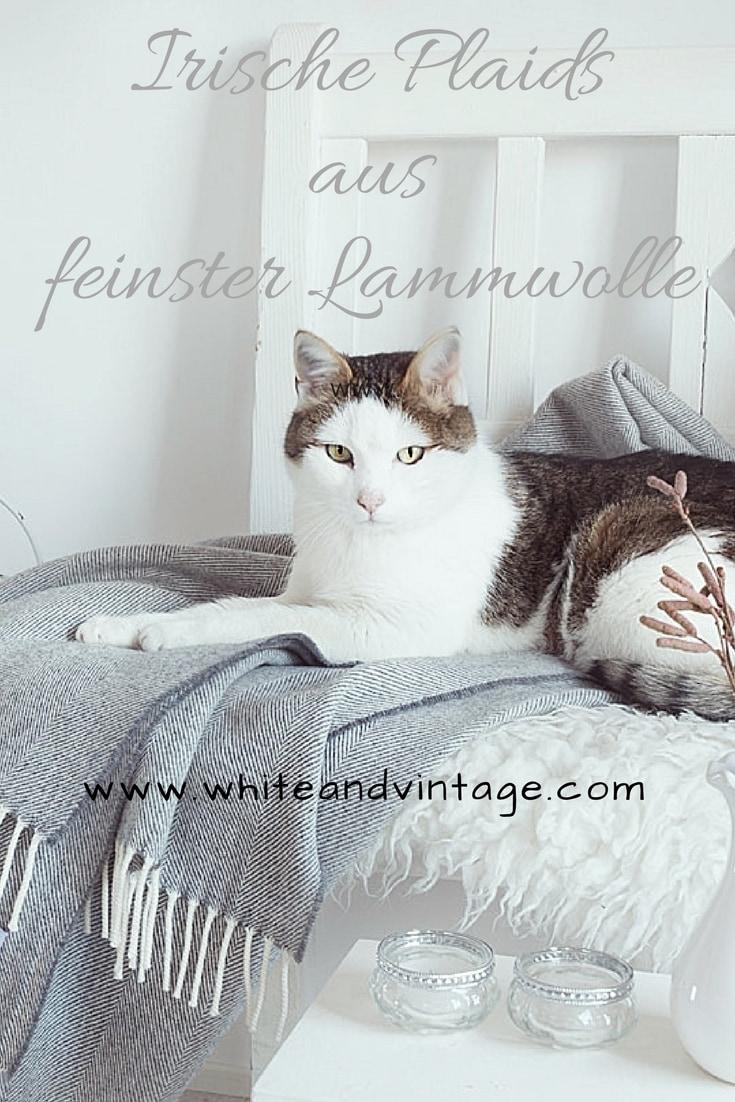 plaids von s fischbacher living mehr als nur eine gew hnliche decke white vintage. Black Bedroom Furniture Sets. Home Design Ideas