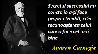 Maxima zilei: 25 noiembrie - Andrew Carnegie