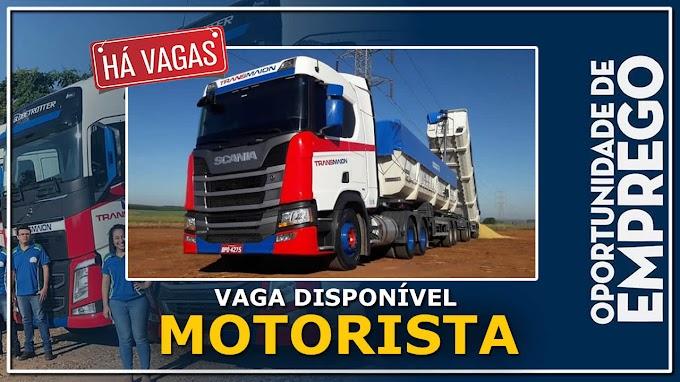 Transportadora TransMaion abre vagas para motorista carreteiro
