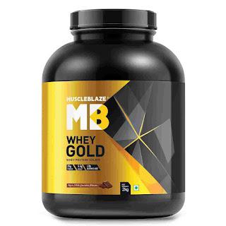 7).MuscleBlaze Whey Gold 100% Whey Isolate Protein Powder