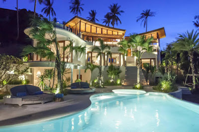 tropical holiday home