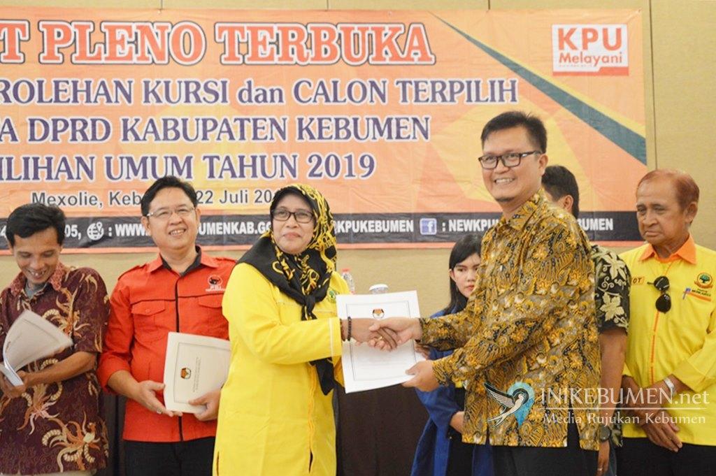 Inilah Daftar Nama 50 Anggota DPRD Kabupaten Kebumen Terpilih 2019-2024
