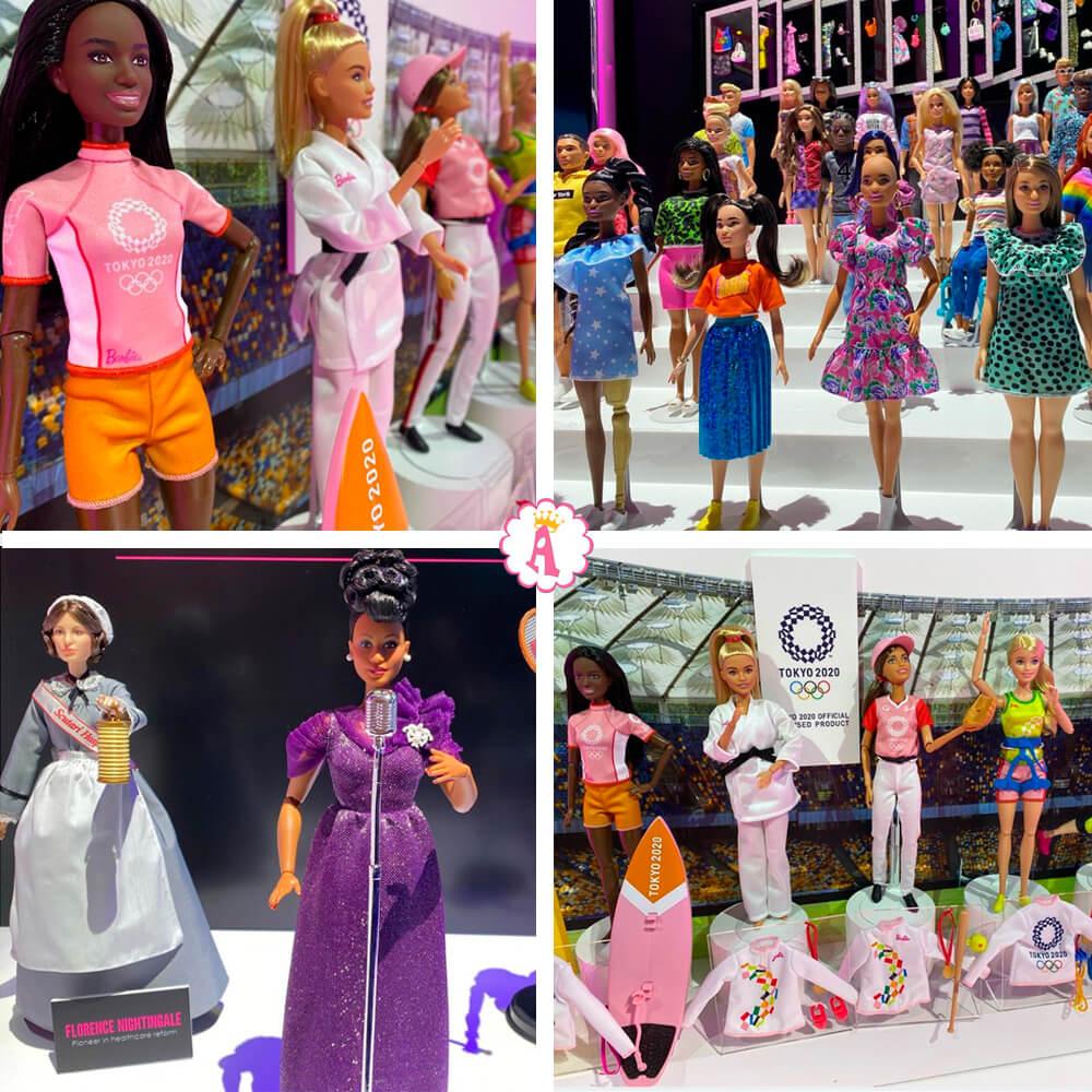 Новые игрушки куклы барби 2020 года на выставке в Нью-Йорке