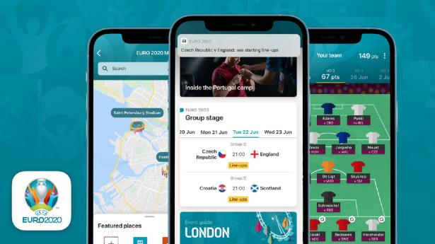 επίσημη εφαρμογή του EURO 2020
