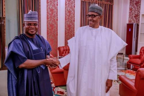 Buhari is like snow - Gov, Yahaya Bello