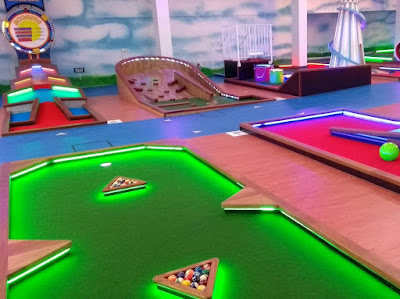 Caddy Shack Mini Golf at Shanklin Seafront. Photo by Philip Walsh, July 2020