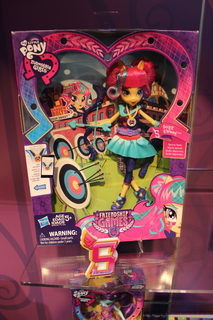 Equestria Girls Friendship Games Sour Sweet Archery Doll at NY Toy Fair 2015