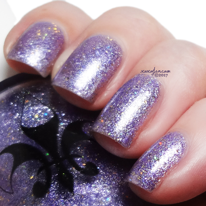 xoxoJen's swatch of Fleur de Lis Party at Prospect Park