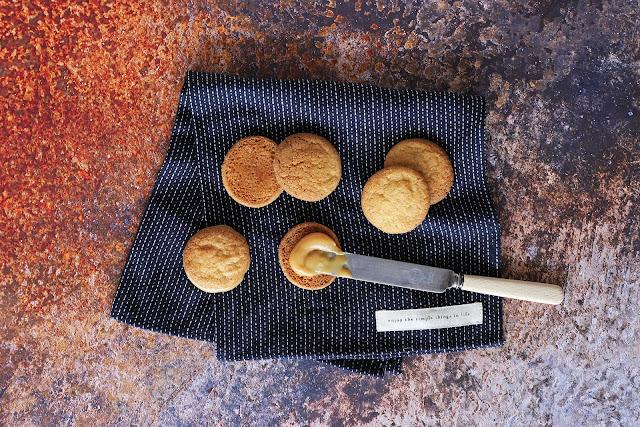 Συνταγή για Μπισκότα Καραμέλας Γεμιστά