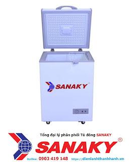 Tủ đông Sanaky VH-150HY3 dung tích 100 Lít